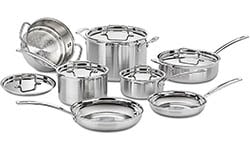 Cuisinart MCP-12N Multiclad Pro Stainless Cookware
