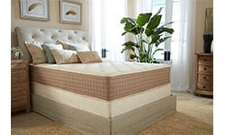 Eco Terra Cal King Natural Latex Hybrid Mattress