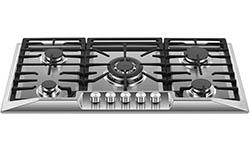 Empava 36 Stainless Steel 5 Italy Sabaf Burners Stove