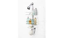 OXO Good grips rustproof compact aluminium Shower Caddy